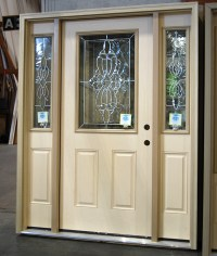 Jamestown Half Glass Door