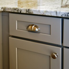 Shaker Kitchen Cabinets Corner Sink Cabinet Stone Harbor Gray - Builders Surplus