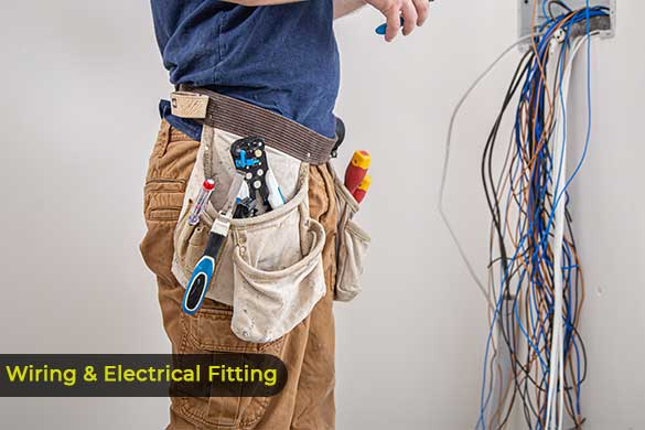house wiring and electrical fitting