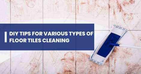 Floor Tiles Cleaning