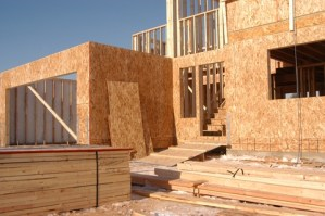 Building a timber framed house