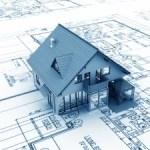 house and blueprint