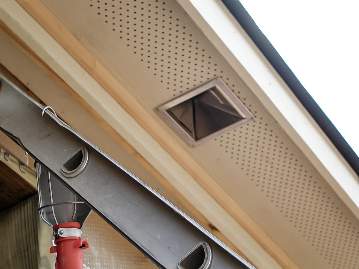 AEV199 Eave Vent Hood  Builders Best