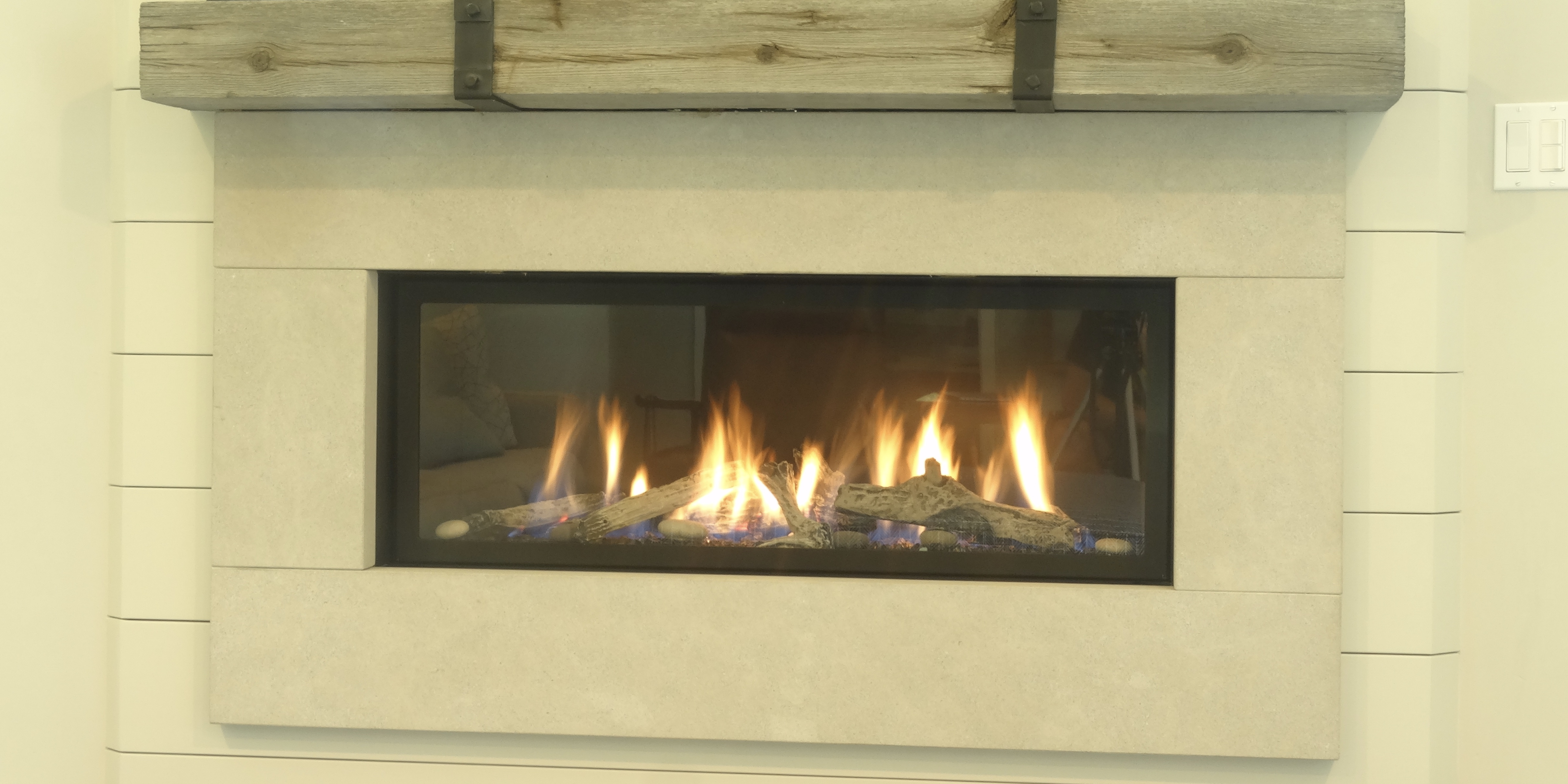 Fireplace Gas Fireplace Cost To Convert High Efficiency Wood Fireplaces - Builder's Fireplace Company