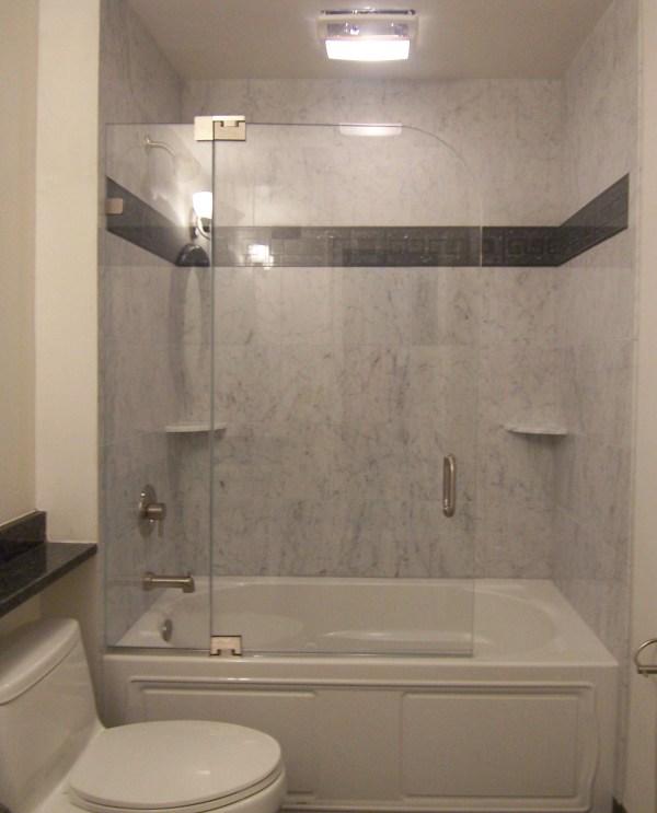 Bathroom Tub Shower Doors Glass Frameless