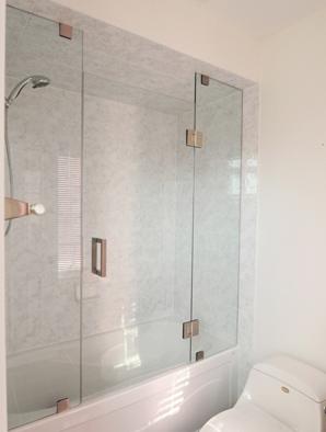 Frameless Shower Doors Builders Glass Of Bonita Inc