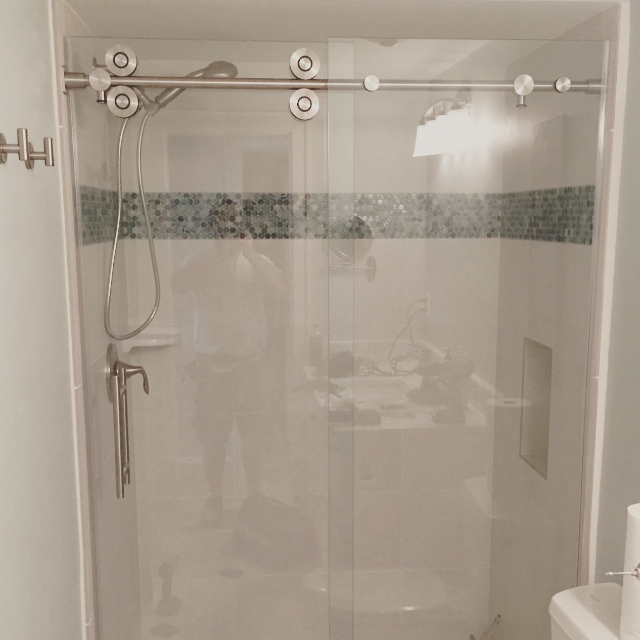 Barn Style Glass Shower Doors Builders Glass Of Bonita Inc