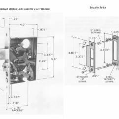 Mortise Lock Parts Diagram 1995 Toyota 4runner Wiring Baldwin Greek Revival Style Solid Brass Handle Set Edinburgh
