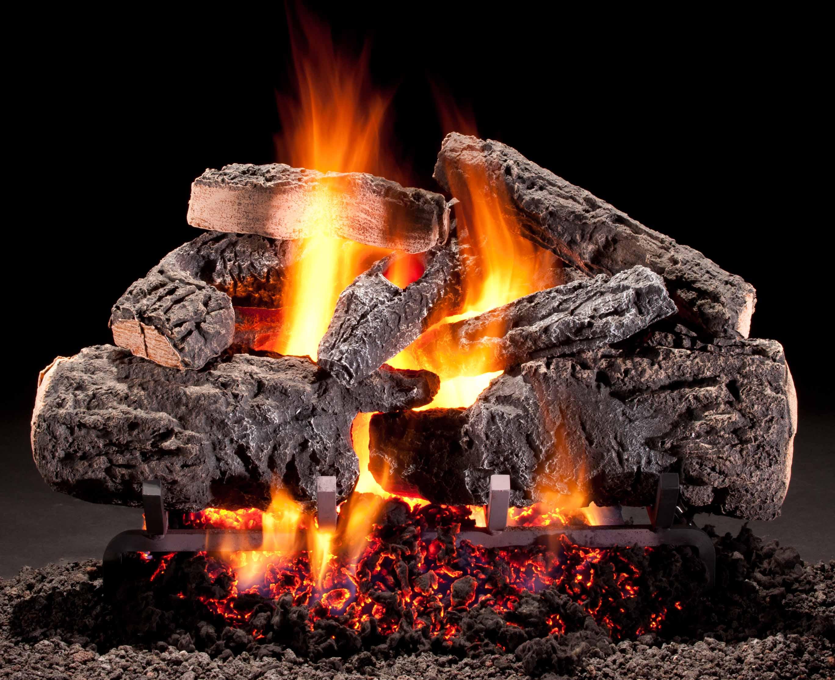 Gas LogsPellet Fuel  Builders Materials