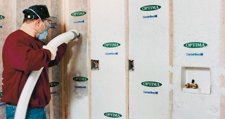 Insulating your house ontario home builders for Types of insulation for basement