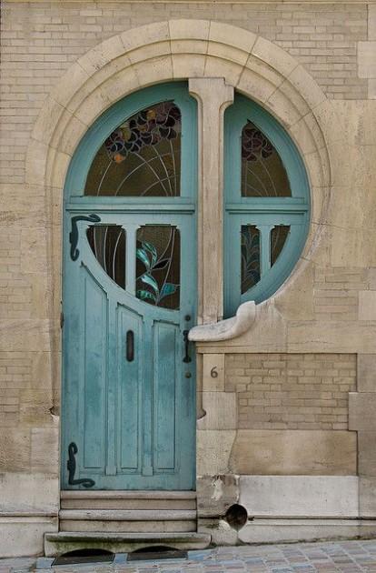 a beautiful front door