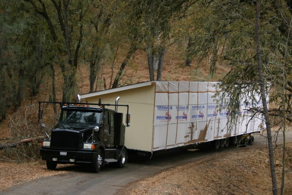 Prefab Homes Ontario - Delivery