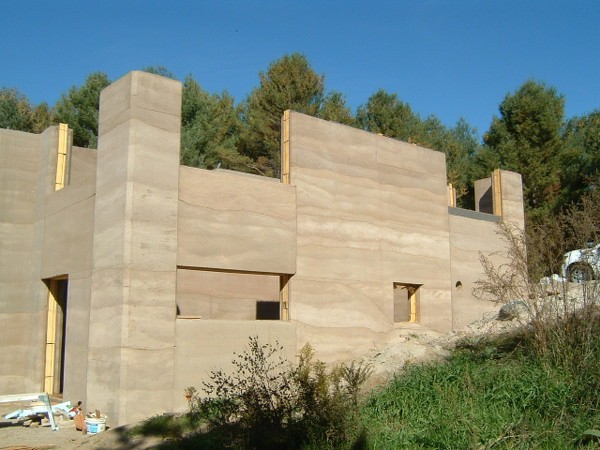 Rammed Earth Construction