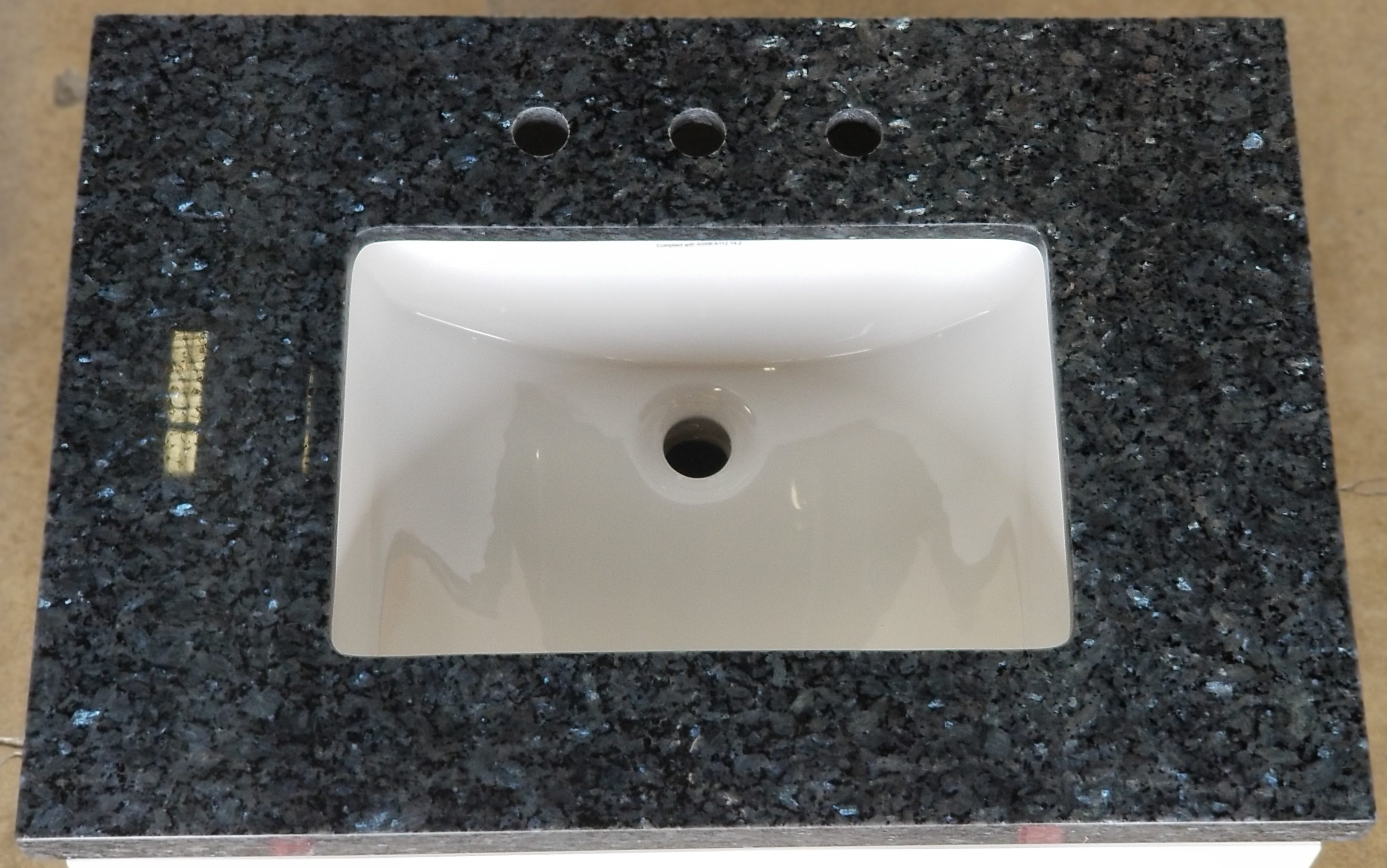 Bathroom Vanity San Diego Blue Pearl Granite Vanity Top Builders Surplus Wholesale