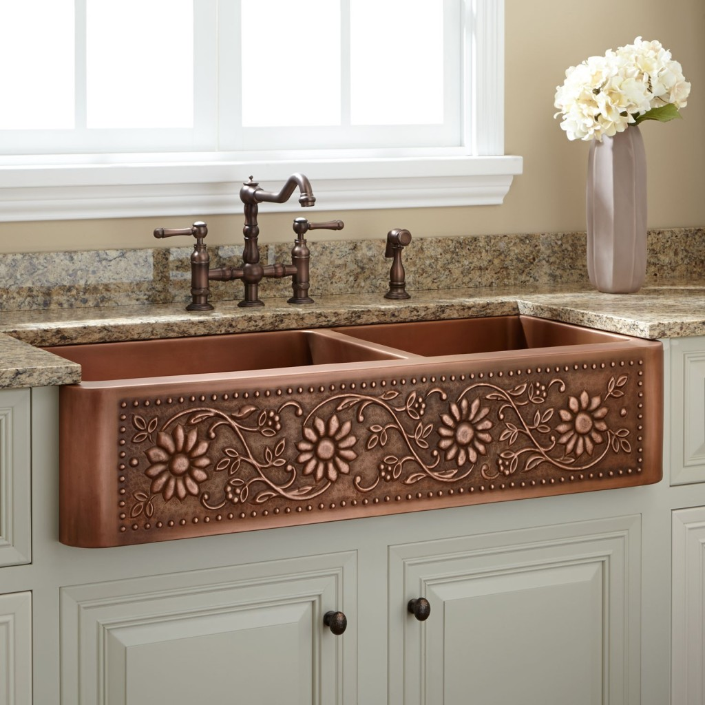 Copper Sinks: The Essential Starter Guide: Decorative Farmhouse