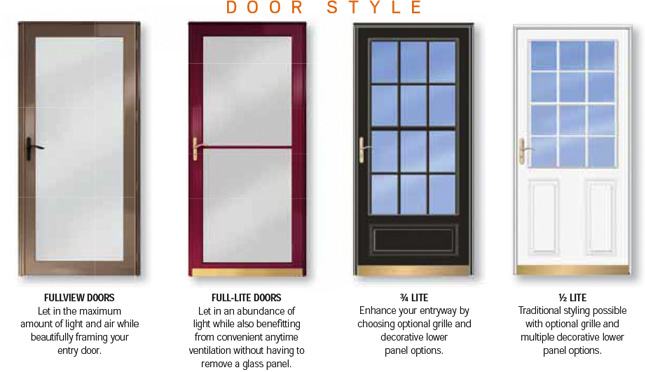decorative storm door. Storm Doors  What They Do and Who Are For Builders Surplus