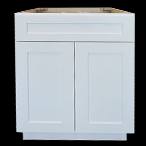 White Shaker Cabinets In Stock • Builders Surplus
