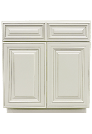 summit antique white raised panel bathroom vanities
