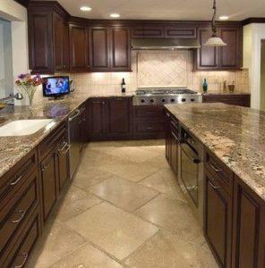 tile floors in kitchen pendant lighting for island ideas builders surplus yee haa flooring wood look at discount