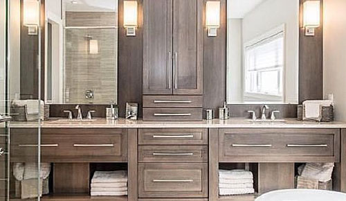 Installing A Vanity Bathroom Vanity Vanities Bath Vanities Installation Kitchen And Bath Store The Edge Kitchen And Bath How To Install Vanity