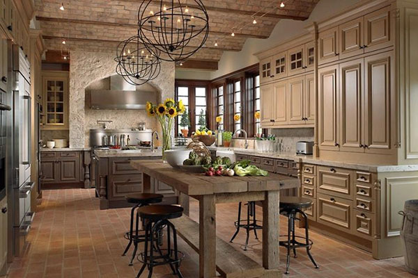 rustic kitchens country kitchens