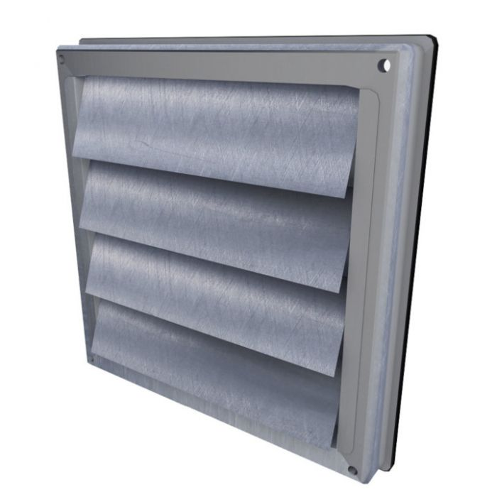 tamlyn louver exhaust vent 4 pipe stainless steel satin