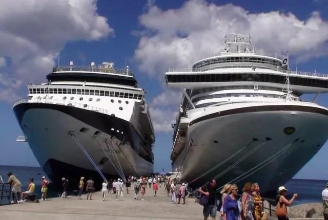A Cruise ship terminal