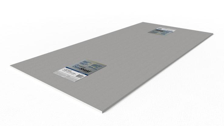 densshield tile backer board moisture