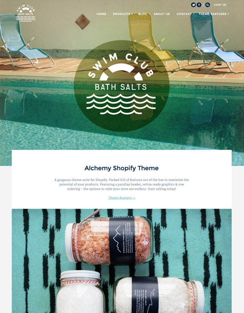 Shopify Theme - Alchemy