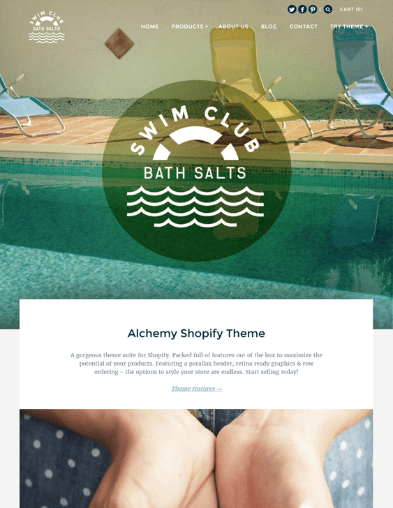 alchemy shopify themes health beauty products