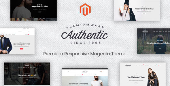 Authentic by Alotheme (Magento theme)