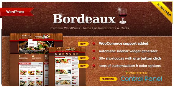 Bordeaux by Orange-themes (WordPress theme)