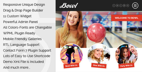 Bowl by Egemenerd (WordPress theme)