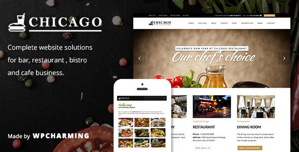Chicago by WPCharming (WordPress theme)
