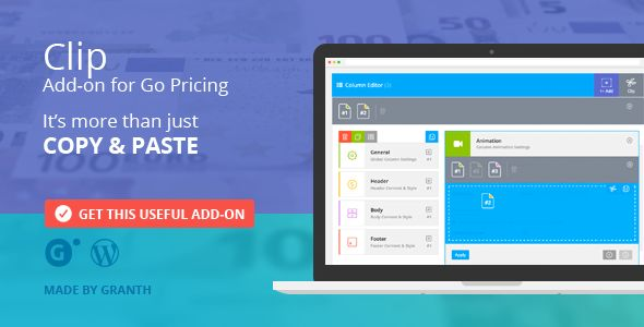 Clip by Granth (pricing table plugin)