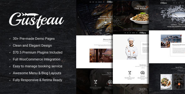 Gusteau by Sunrisetheme (WordPress theme)