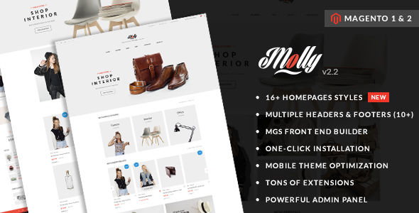 Molly by ArrowHiTech (Magento theme)