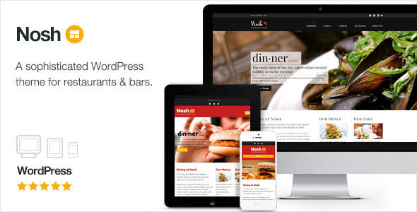 Nosh by ThemeCanon (WordPress theme)