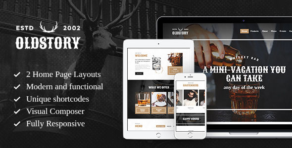 OldStory by AncoraThemes (WordPress theme)