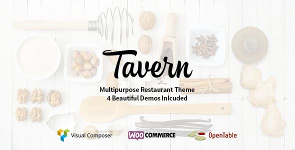 Tavern by HighGrade (WordPress theme)