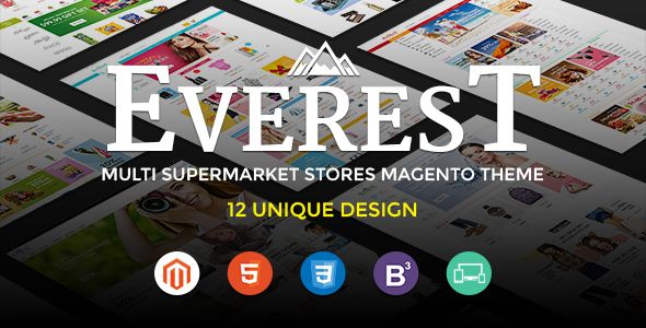 Ultimate Grocery Outlet Store Premium Responsive Magento Theme by Tvlgiao (Magento theme)