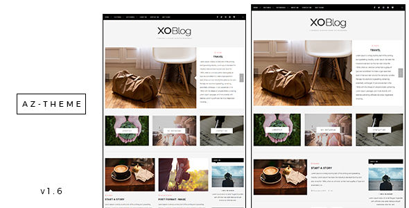 XO by AZ-Theme (video blog WordPress theme)