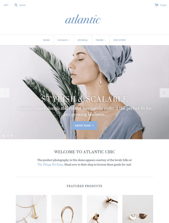 atlantic jewelry shopify themes