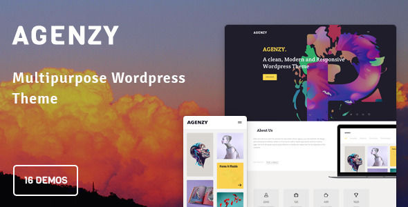 Agenzy by BioButterfly (multi-purpose WordPress theme)