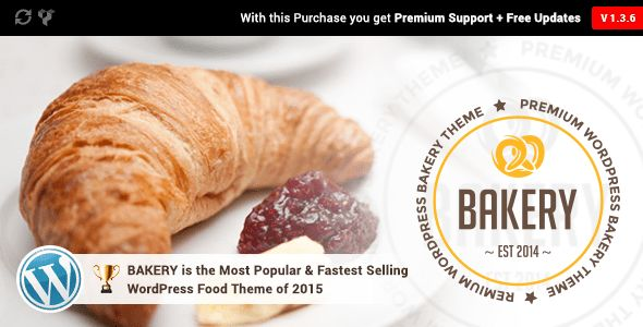Bakery by Milingona_ (WordPress theme for bakeries, cafes and food retail stores)