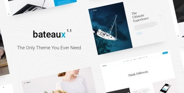 Bateaux by Twisttheme (multi-purpose WordPress theme)