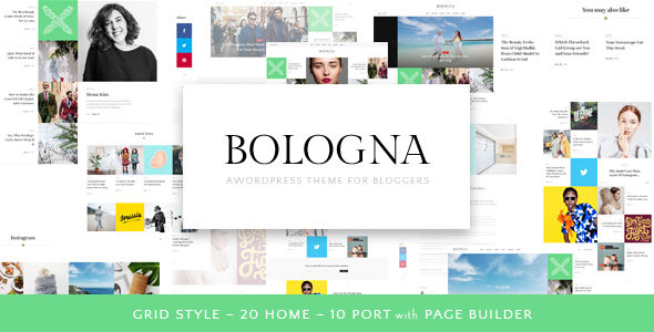 Bologna by Beautheme (magazine WordPress theme)
