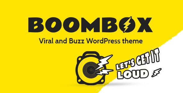 BoomBox by PX-lab (magazine WordPress theme)