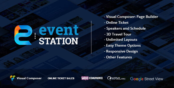 Event Station by GloriaTheme (event & conference WordPress theme)