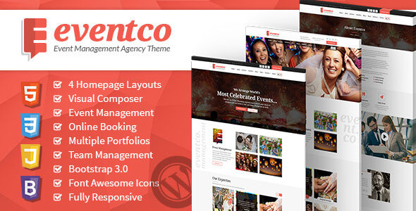 Eventco by CrunchPress (event & conference WordPress theme)